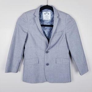 Appaman boys grey blazer, size 8, gray